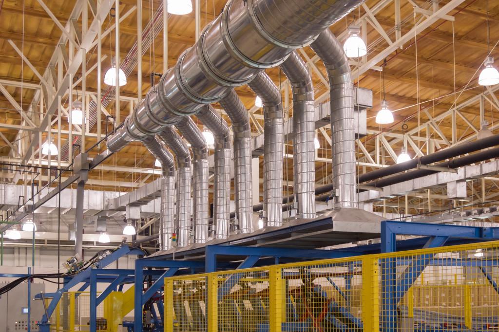 Вентиляция промышленных заводов в санкт петербурге